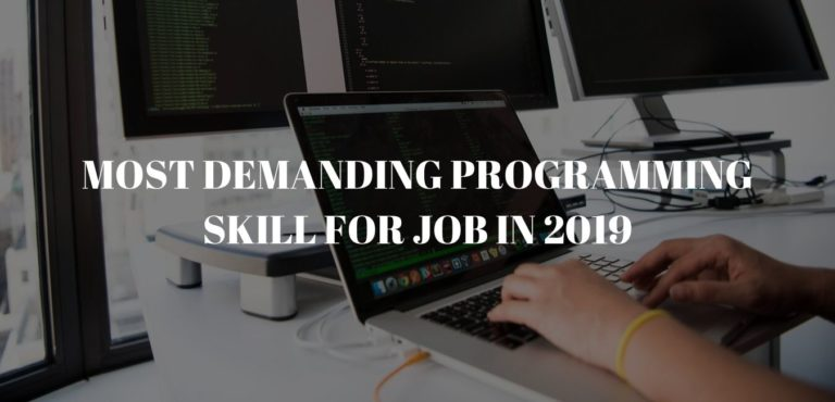 Most Demanding Programming skill for job in 2019